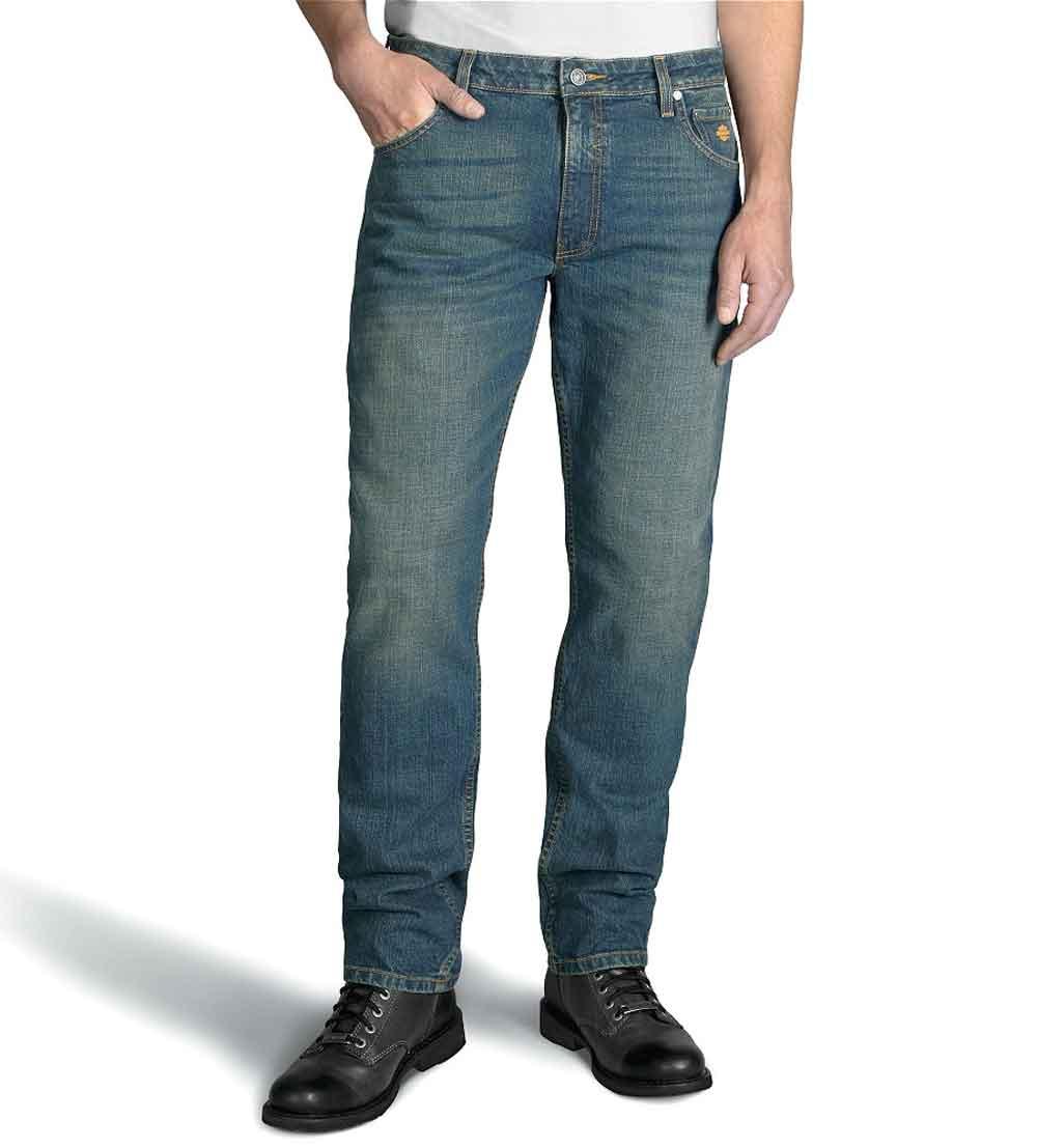 Harley-Davidson® Men's Straight Leg Fit Modern Stretch Jeans