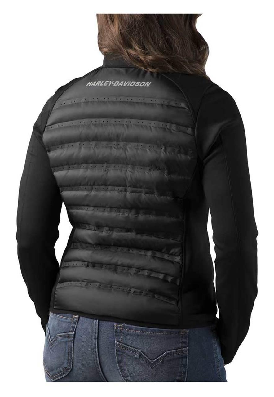 Harley-Davidson® Women's FXRG Thinsulate Mid-Layer Jacket, Black