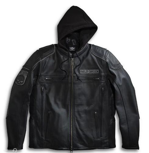 Harley-Davidson Men's Auroral 3-in-1 Leather Jacket