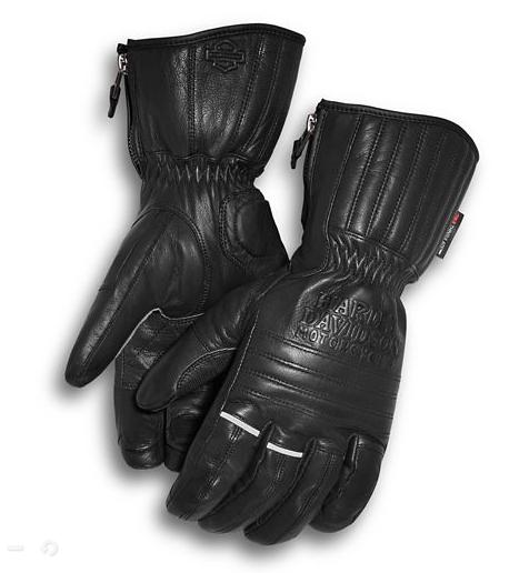 Harley Davidson Men's Wilder Insulated Gauntlet Gloves