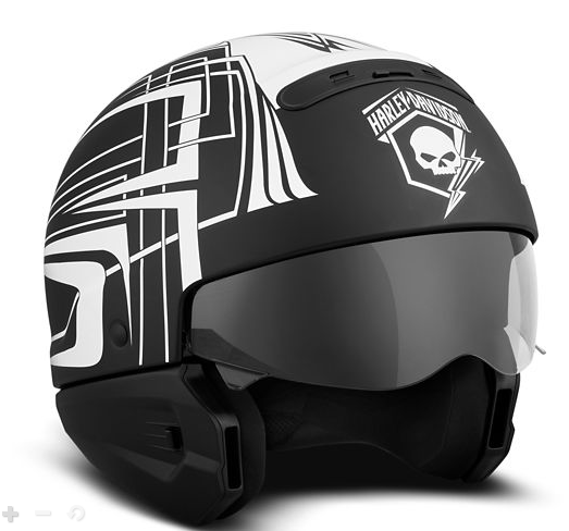 Harley Davidson Skull Lightning 3-in-1 X04 Helmet