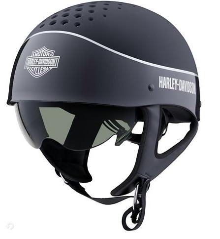 Harley Davidson Trenton Two-Toned B13 Half Helmet