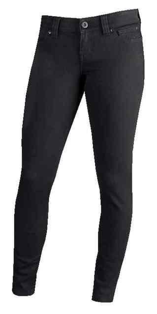 Harley-Davidson® Women's Skinny Slim-Fit Low-Rise Jeans, Black