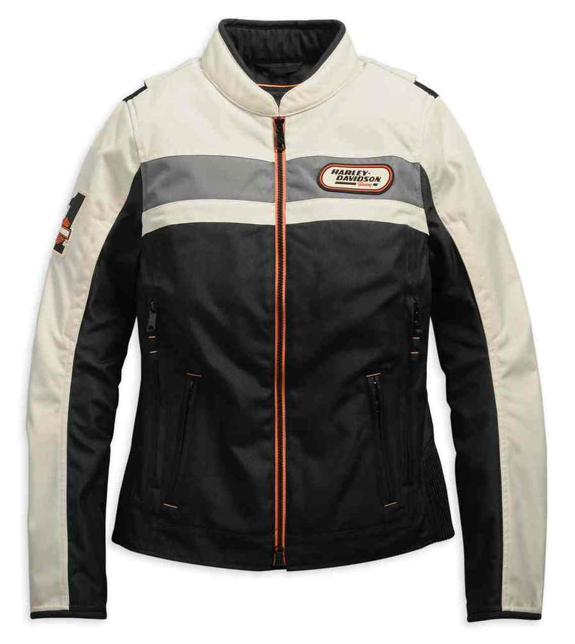 Harley-Davidson® Women's Fennimore Riding Colorblocked Jacket