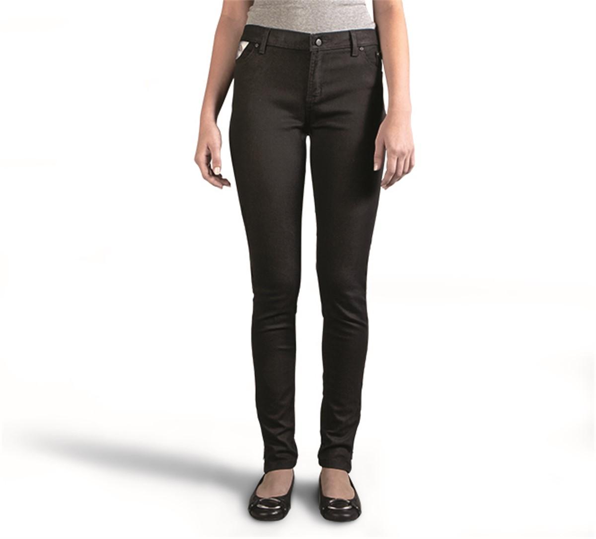 Harley-Davidson® Women's Black Label Skinny Zip Mid-Rise Jeans