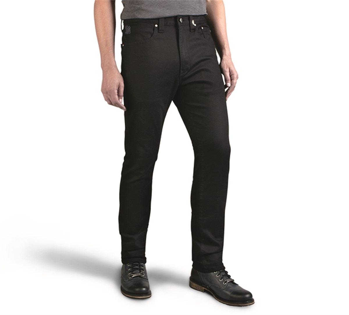 Harley-Davidson® Men's Black Label Core Slim Fit Jeans, Black