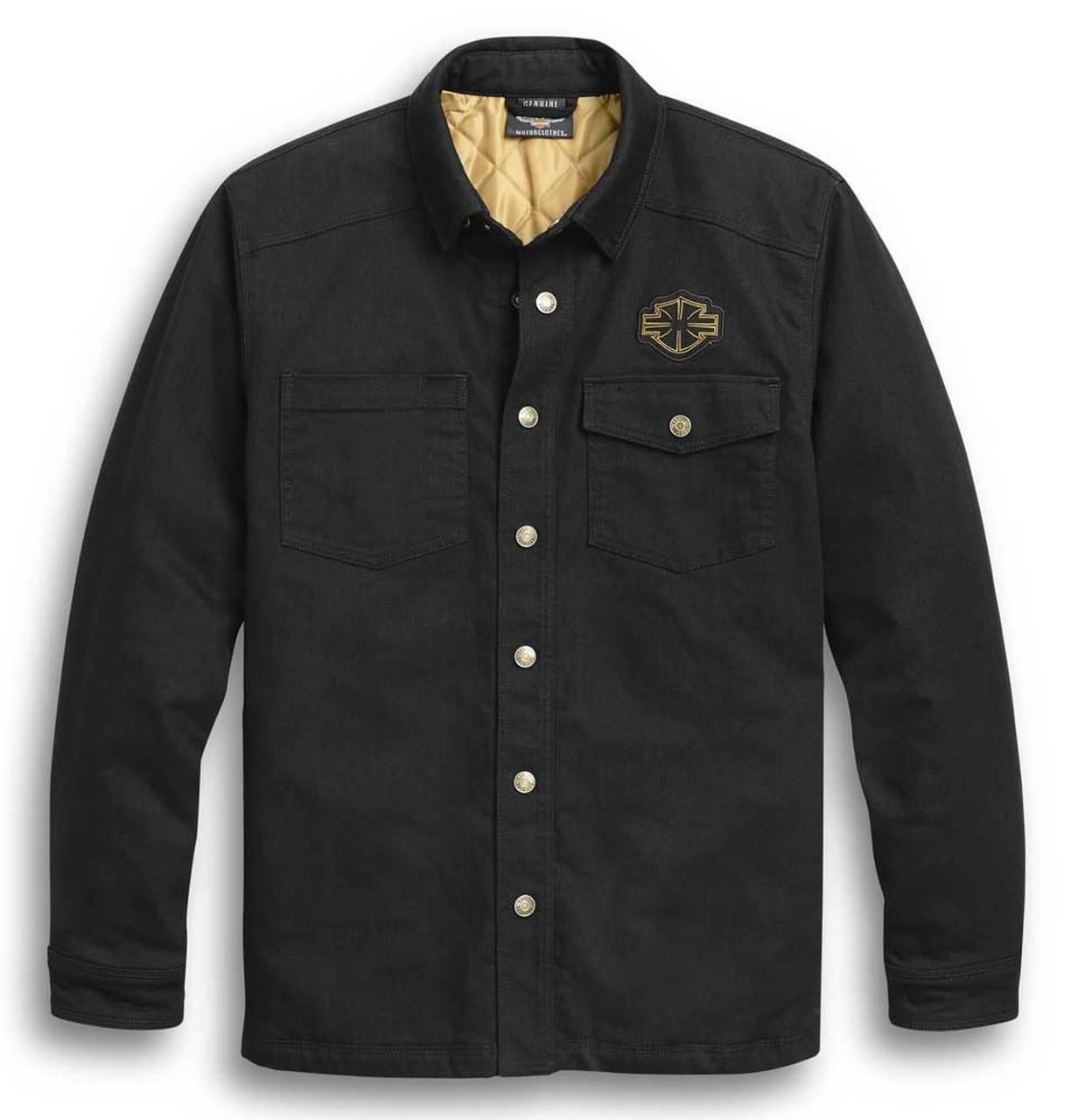 Harley-Davidson® Men's Skull Wing Long Sleeve Shirt Jacket