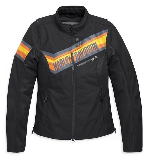 Harley-Davidson® Women's Sidari Mesh & Textile Riding Jacket