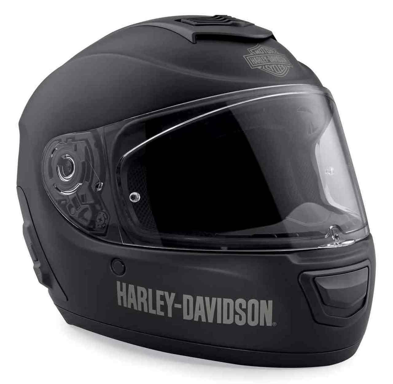 Harley-Davidson® Men's Boom! Audio N02 Full-Face Helmet, Matte Black