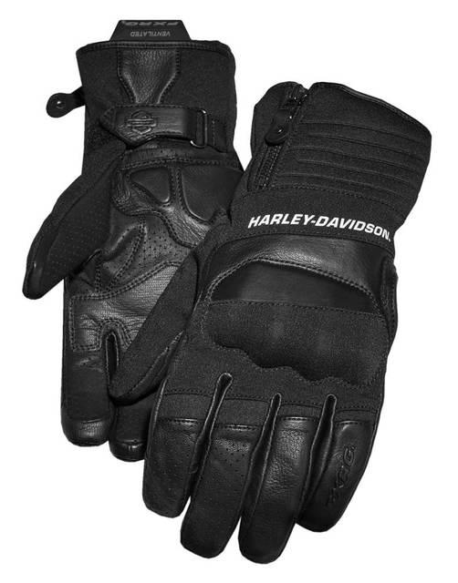 Harley-Davidson® Men's FXRG Dual Chamber Full-Finger Gauntlet Gloves