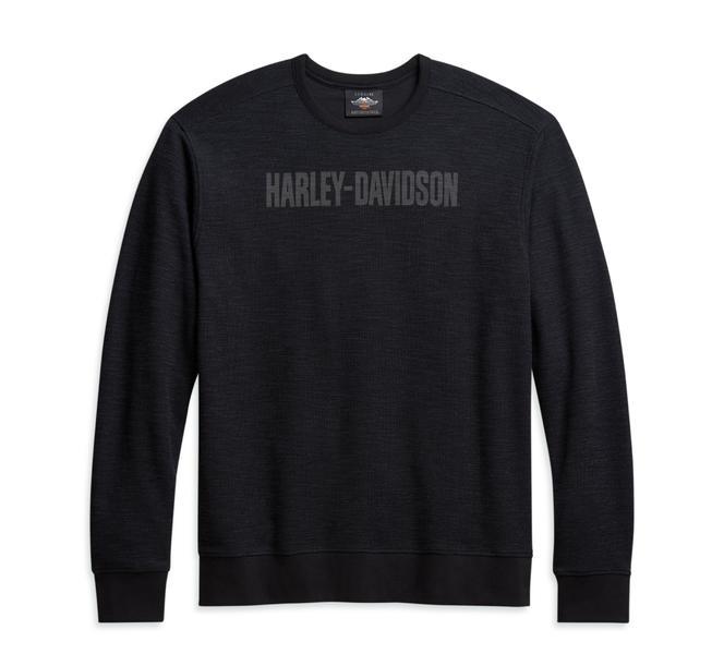 Harley-Davidson Men's Textured Pullover