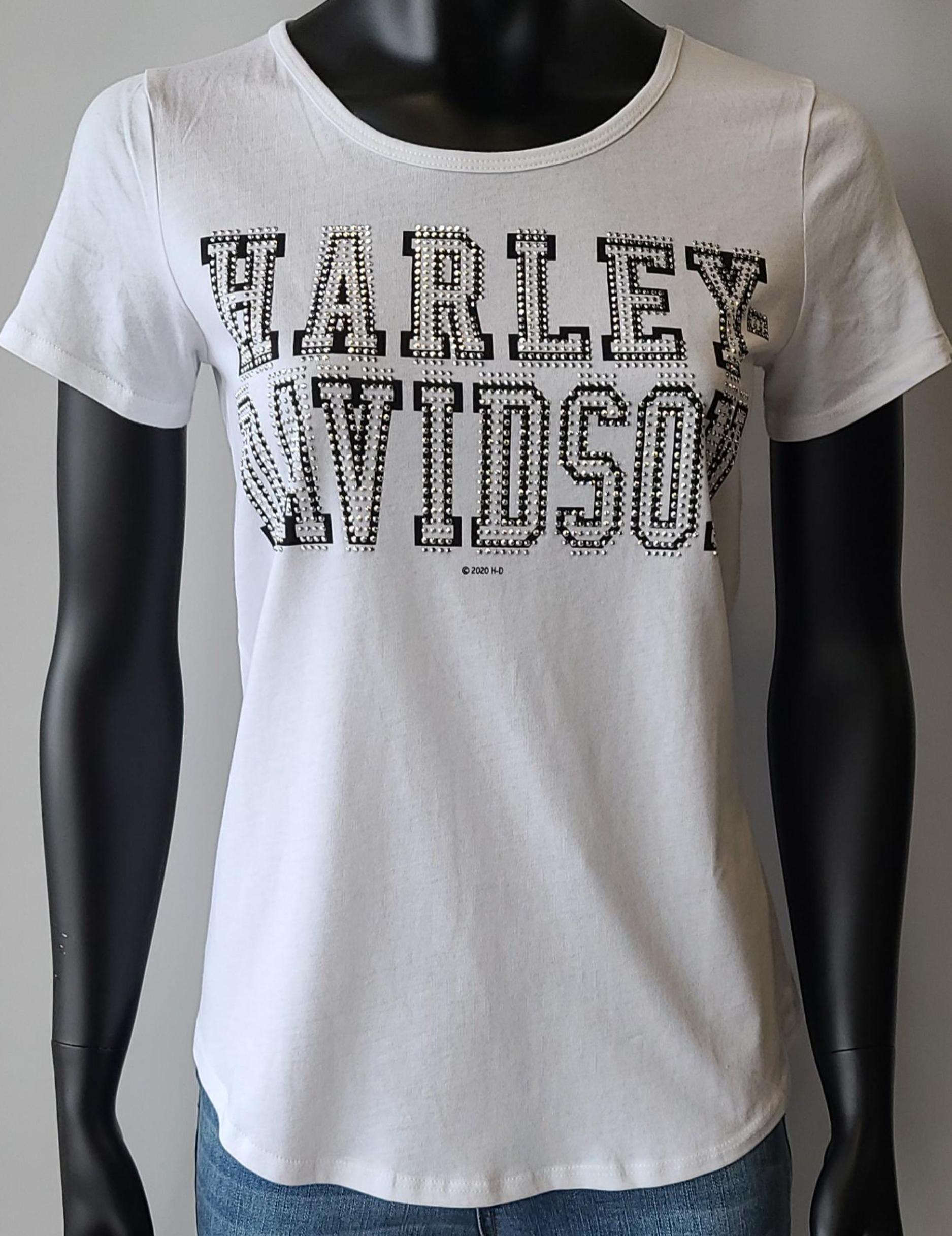 HARLEY DAVIDSON SHIFTY LDS SCOOP WHITE