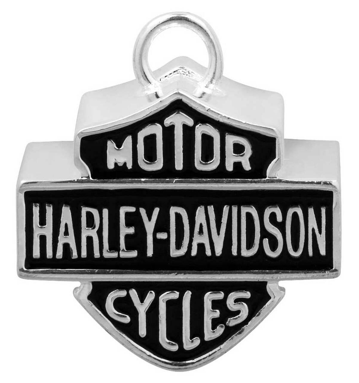 HARLEY DAVIDSON BIG BAR & SHIELD SILVER RIDE BELL