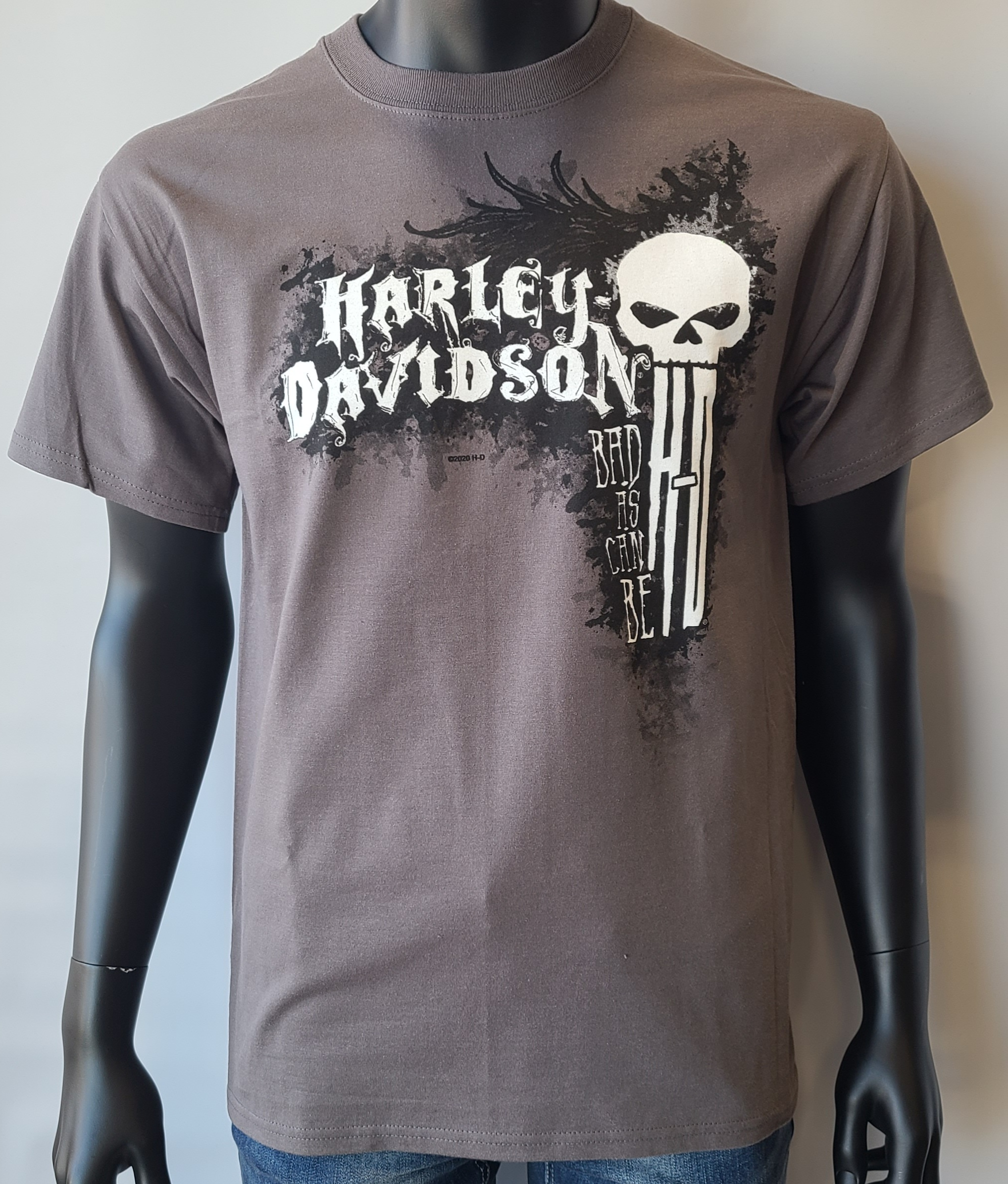 HARLEY DAVIDSON CAN BE BAD ADT T SMG