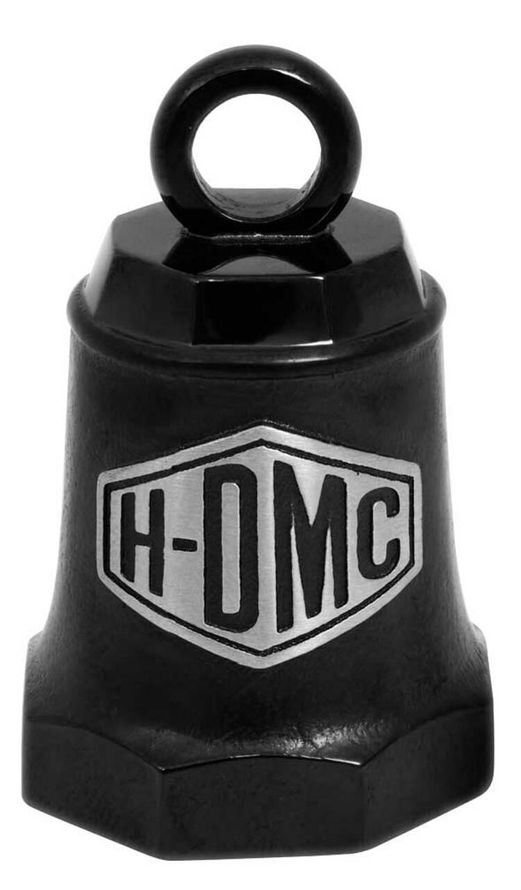 HARLEY DAVIDSON H-DMC BLACK MATTE & SILVER RIDE BELL