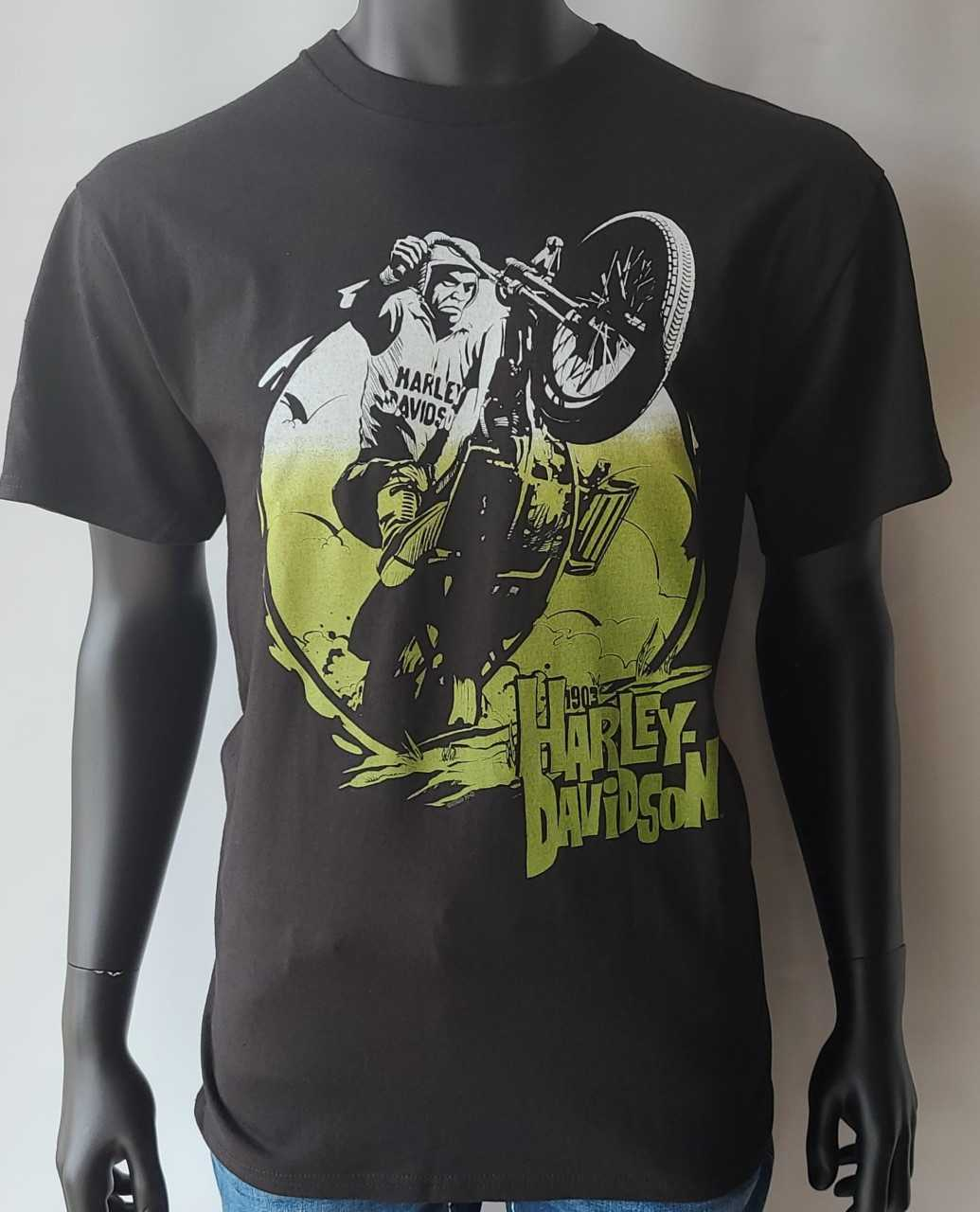 HARLEY DAVIDSON BLACK*RUN THE GEARS