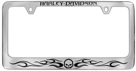 HARLEY DAVIDSON LICENSE FRAME--HARLEY-DAVIDSON