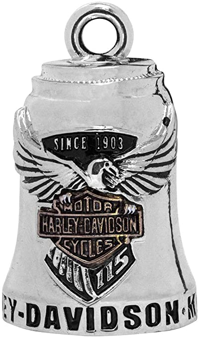 HARLEY DAVIDSON 115TH ANNIVERSARY H-D RIDE BELL