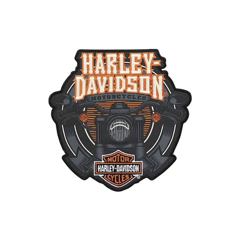 HARLEY DAVIDSON EMBLEM, HANDLEBARS, MD