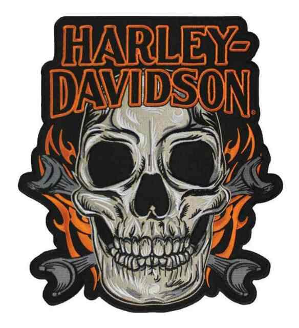 Harley-Davidson® Skull Mouth Emblem