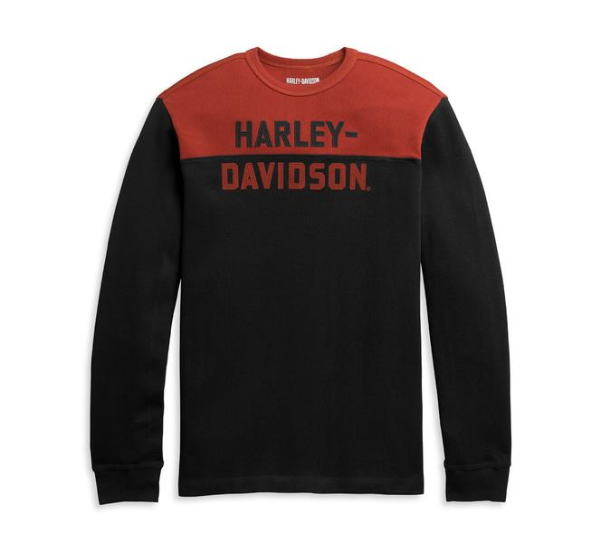 HARLEY DAVIDSON PULLOVER-KNIT,RED