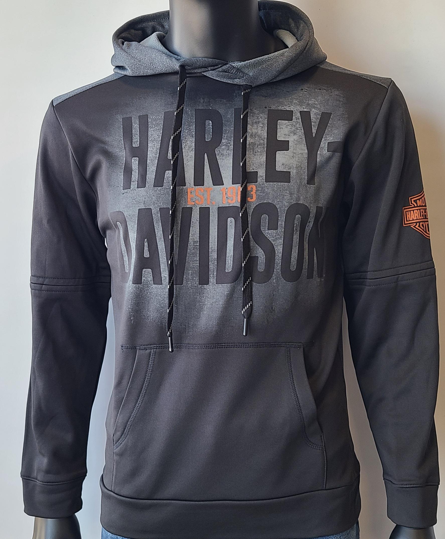 HARLEY DAVIDSON MLB BLK/MLB BK PTCH GY*SERIOUS