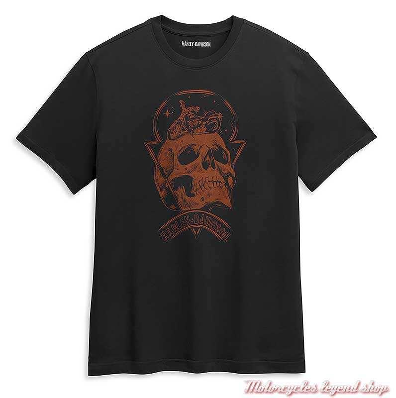 Harley-Davidson t-shirt Skull Space