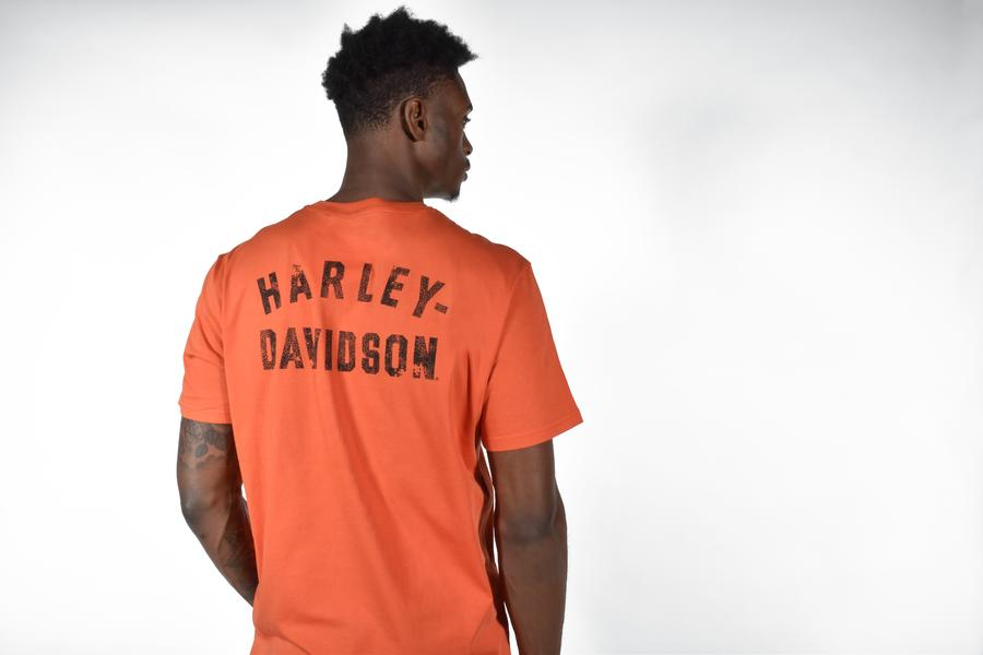 HARLEY-DAVIDSON® MEN'S WINGED EAGLE LOGO SHORT SLEEVE T-SHIRT