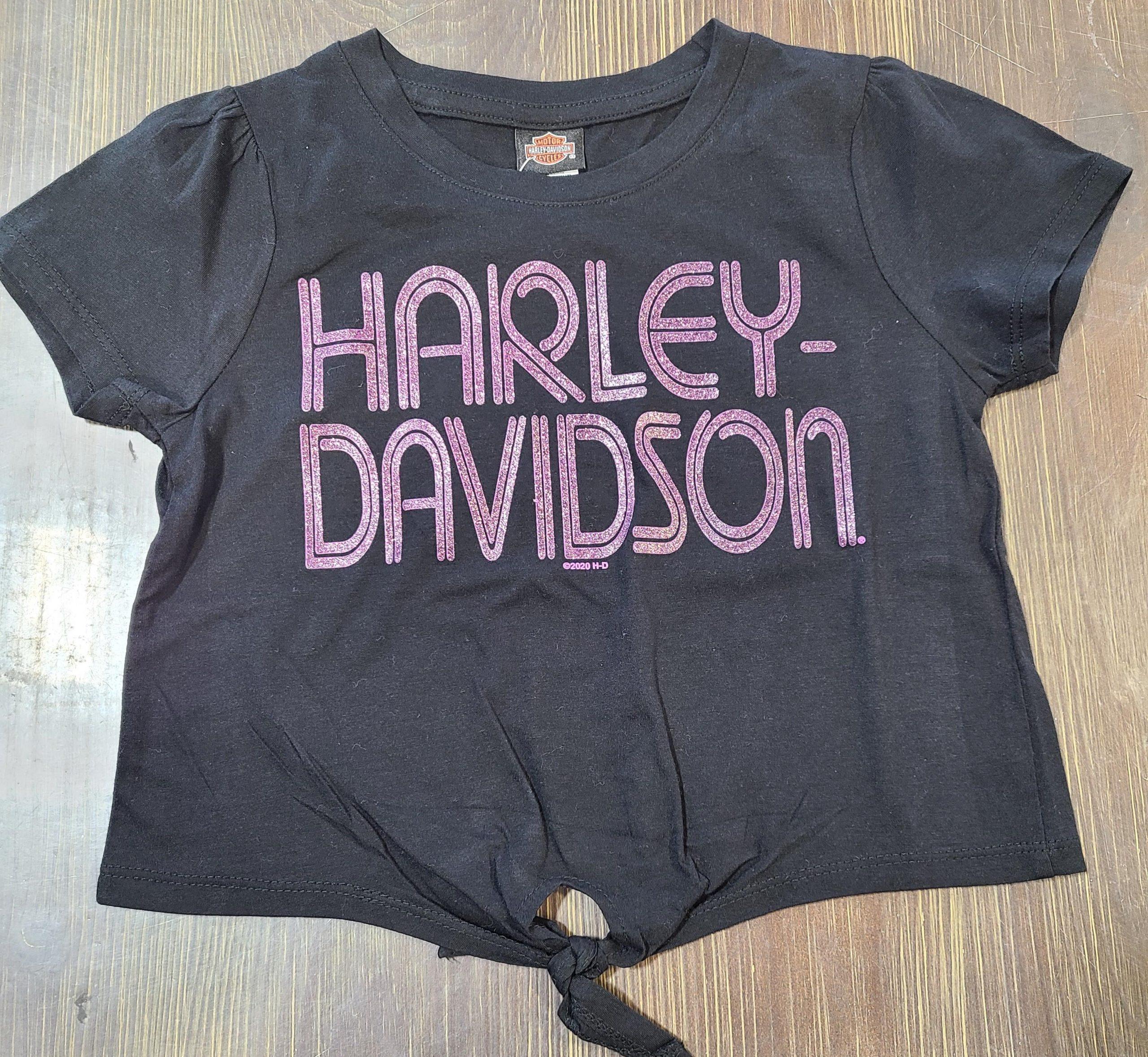 HARLEY DAVIDSON STAR GAZER GIRLS TIE FRON