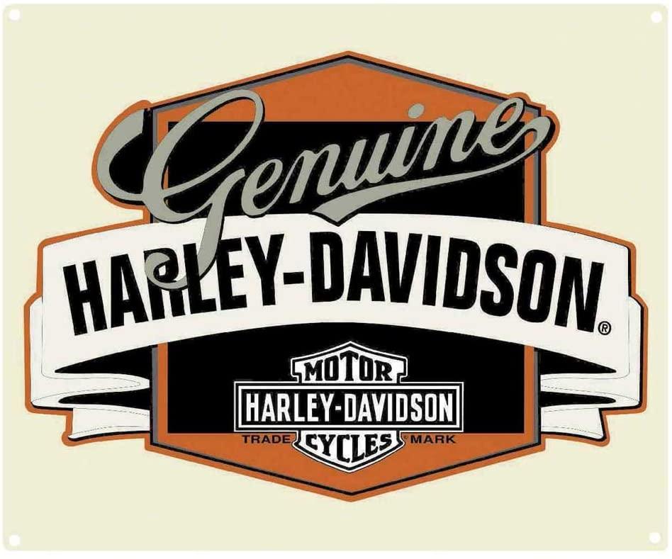 HARLEY DAVIDSON GENUINE W/BANNER SIGN