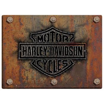 HARLEY DAVIDSON MADE PLATE SIGN