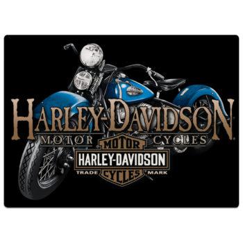 HARLEY DAVIDSON OLD BLUE SIGN