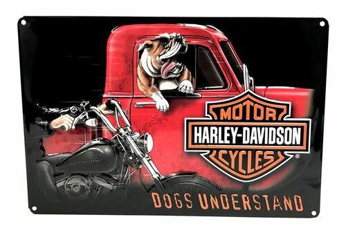 HARLEY DAVIDSON DOGS UNDERSTAND SIGN