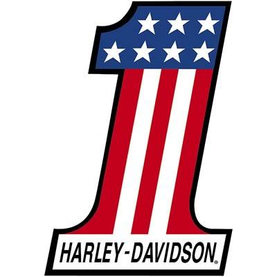 HARLEY DAVIDSON NUMBER ONE SIGN