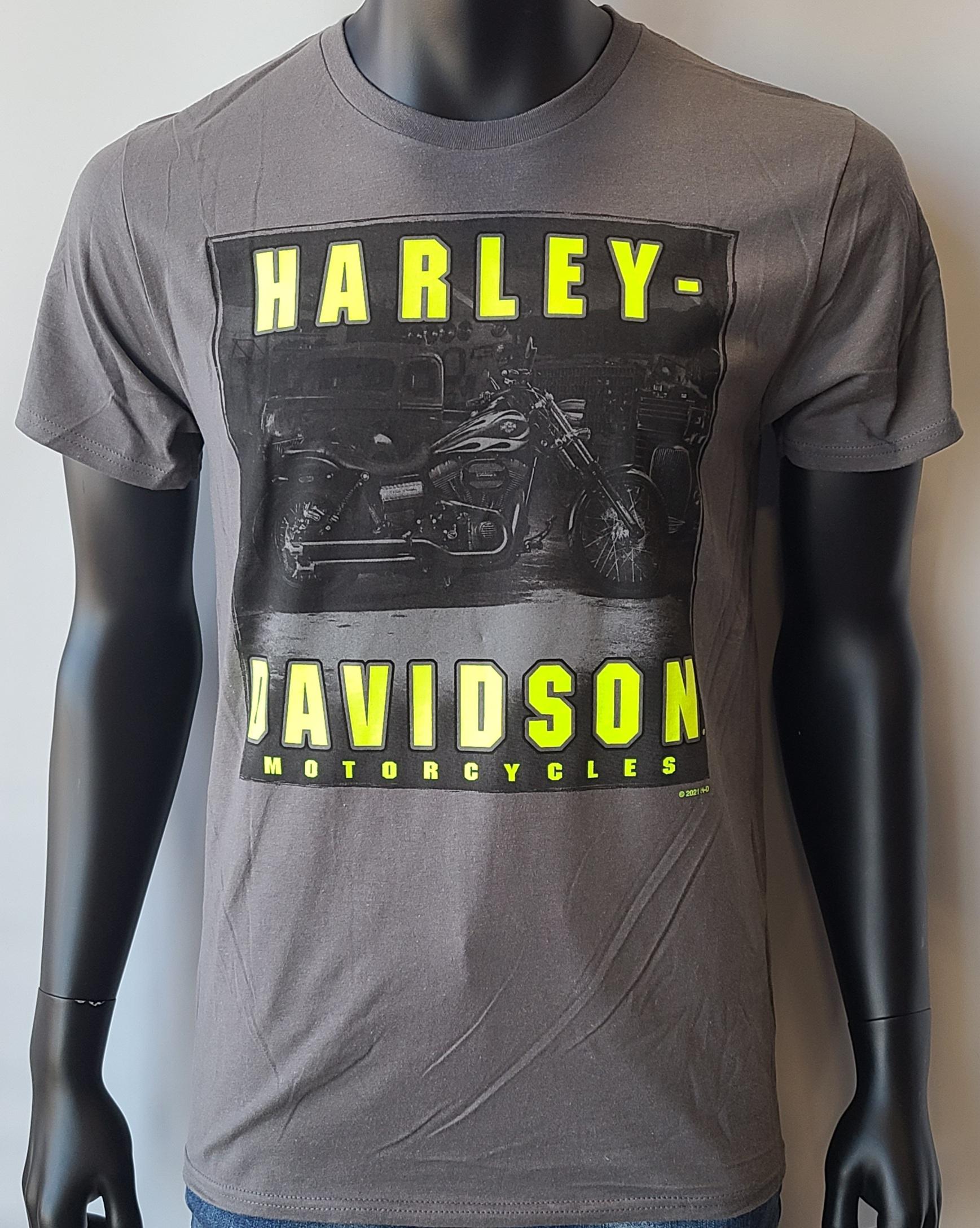 HARLEY DAVIDSON HI VIZ NAME ADT T SMG
