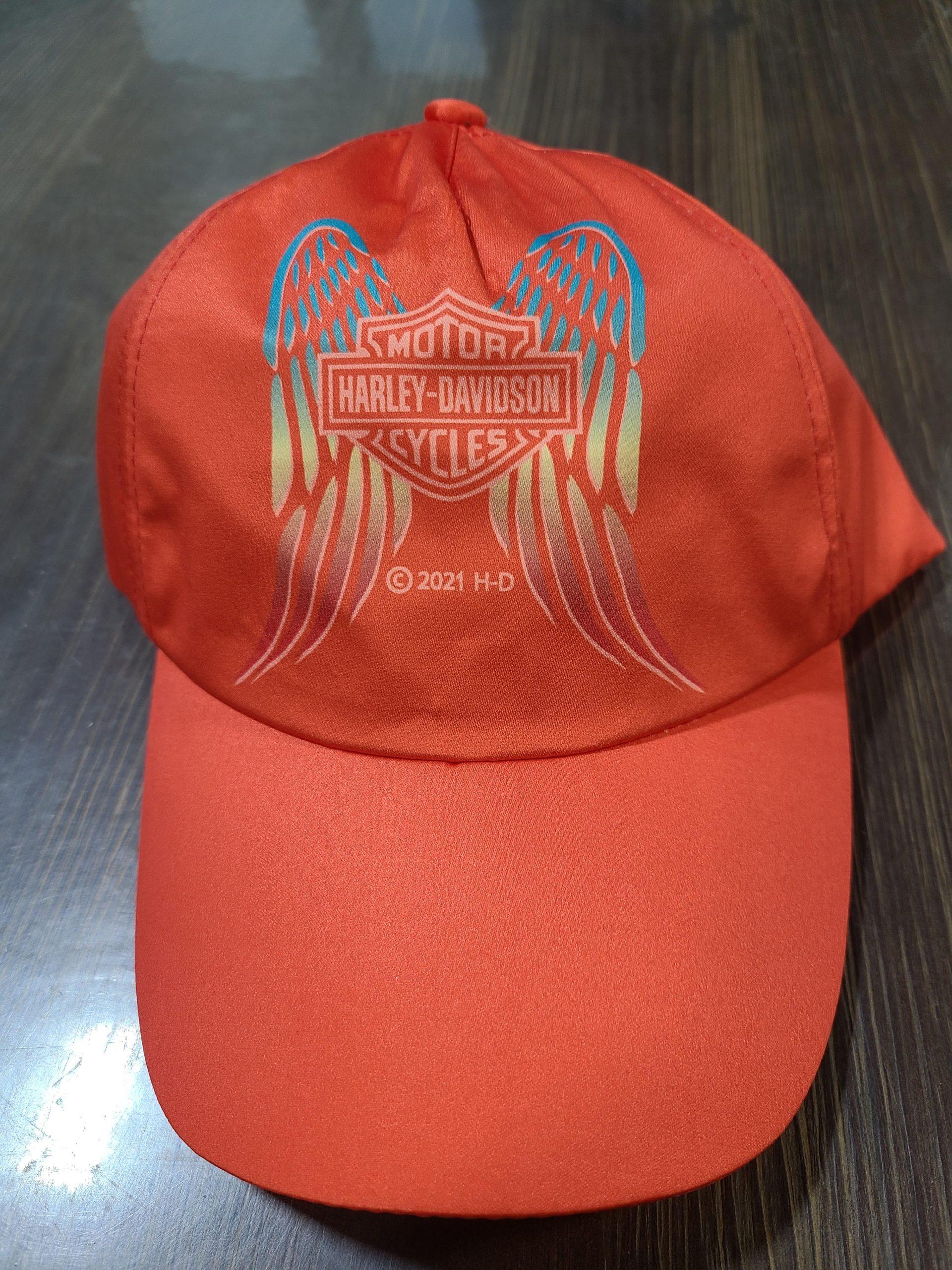 HARLEY DAVIDSON LTL GRL SATIN CAP PINK SIZE 4/14