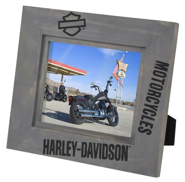 HARLEY DAVIDSON S21  WOOD PICTURE FRAME- 8