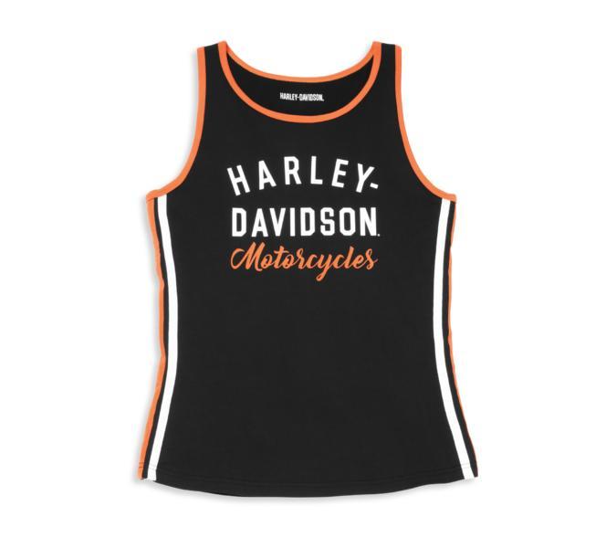 HARLEY DAVIDSON ICONIC SIDE STRIPE TANK