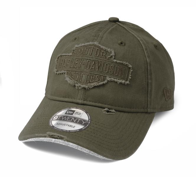 HARLEY DAVIDSON CAP-BB,WOVEN,9TWENTY,GREEN