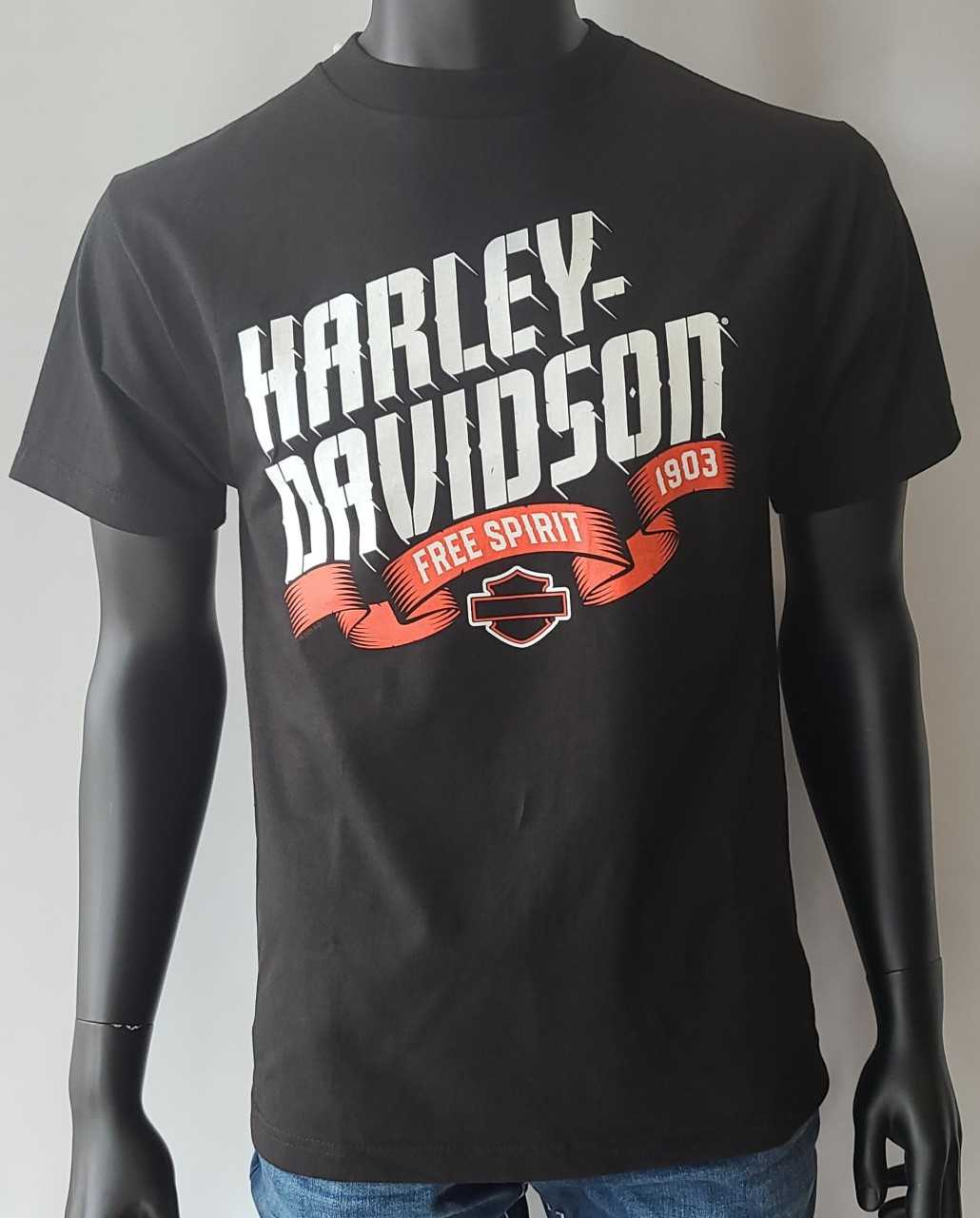 HARLEY DAVIDSON BANNER-BLACK