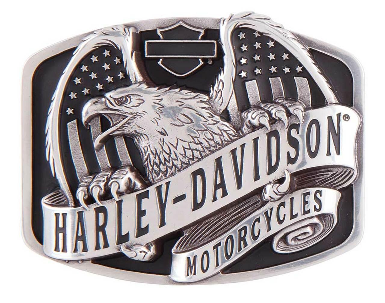 HARLEY DAVIDSON WINGS OVER AMERICA BUCKLE