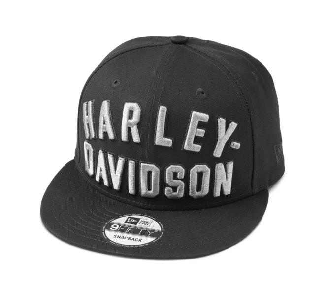 HARLEY DAVIDSON EMBROIDERED ARCHED GRAPHIC 9FIFTY ADJUSTABLE CAP