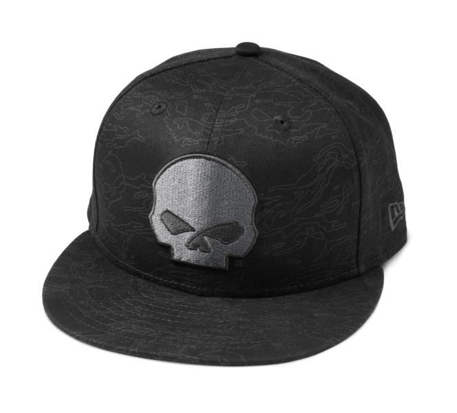 HARLEY DAVIDSON Men's Skull Camo 59FIFTY Cap